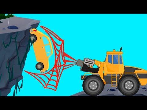 Transformer | Spider Truck | Vacuum Truck | Fire Rescue | Truck Video For Kids