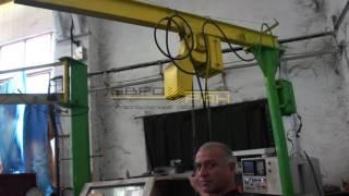 Кран консольный ручной с цепным тельфером(ООО ПКФ