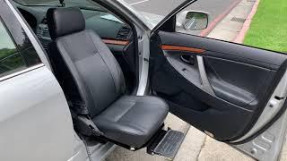 TOYOTA CAMRY 安裝福祉轉向椅在副駕駛座