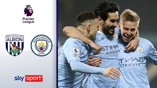 5:0! City an der Spitze | West Brom - Manchester City 0:5 | Highlights - Premier League