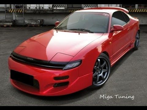 toyota celica t18 tuning body kits youtube. Black Bedroom Furniture Sets. Home Design Ideas