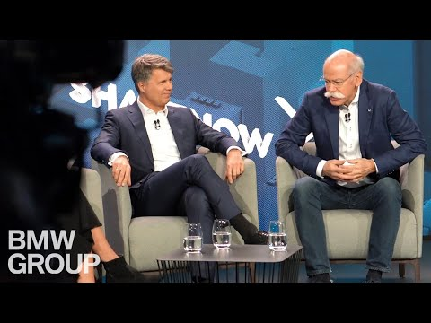 BMW Group And Daimler Unveil New Mobility Company
