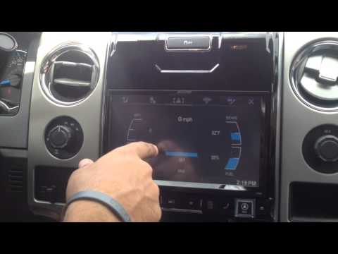 Ford F-150 Alpine In-Dash Navigation