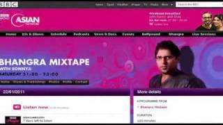 "Munda kamSI & Jeet Matharoo on BBC ASIAN NETWORK [""Haada Mundeya Da"" Played on BBC]"