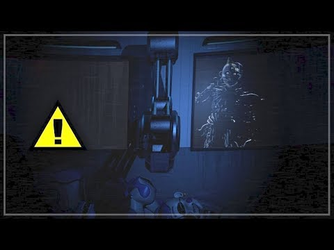 Escaping the scooping room?! - alternative secret ending (FNaF SL)
