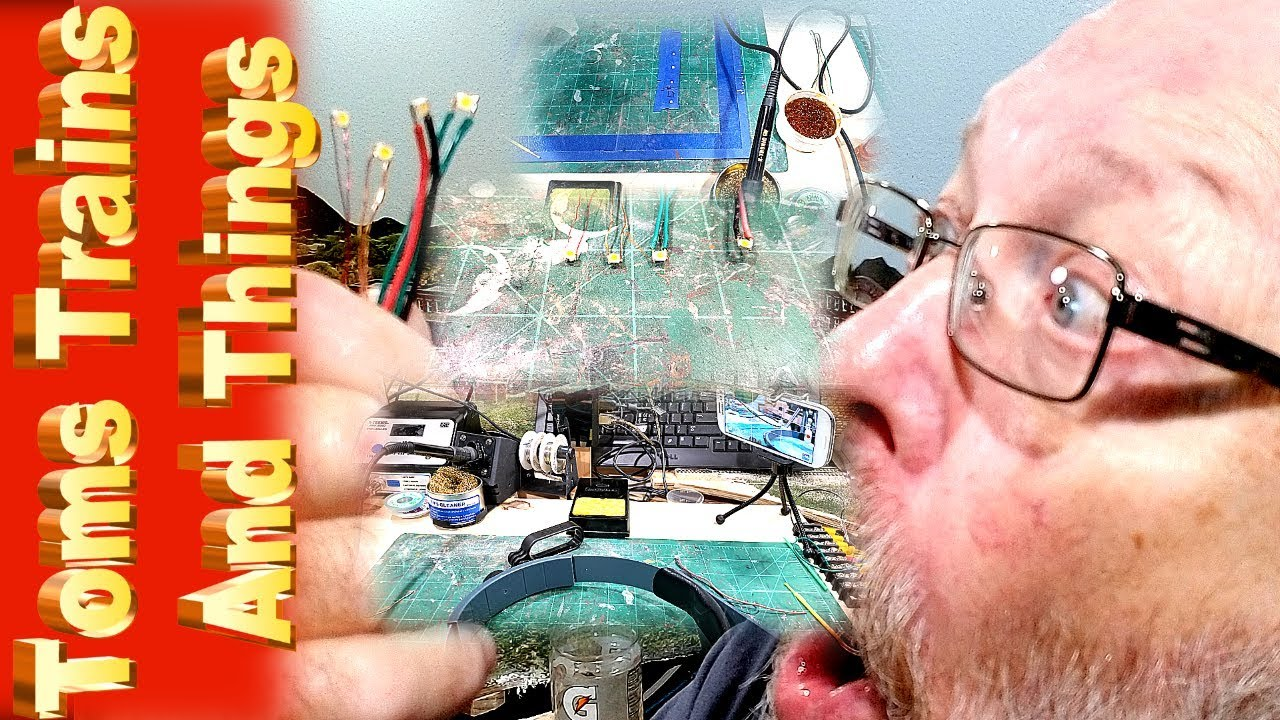 Easy Soldering Method For Surface Mount Leds With Four Types Of Wiring Channel Wires
