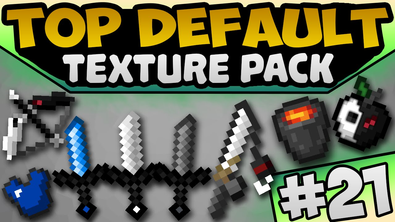 TOP Minecraft PvP DEFAULT EDIT 1.8.9 Texture / Resource Pack | TOTW21 | Exa - YouTube