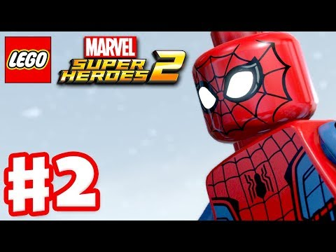 LEGO Marvel Super Heroes 2 - Gameplay Walkthrough Part 2 - Avenger's World Tour!