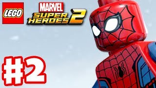 LEGO Marvel Super Heroes 2 - Gameplay Walkthrough Part 2 - Avenger