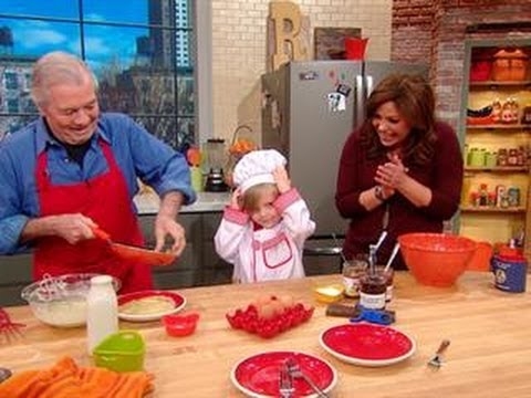 rachael ray kitchen blown glass pendant lighting for jacques pepin and his superfan in s youtube