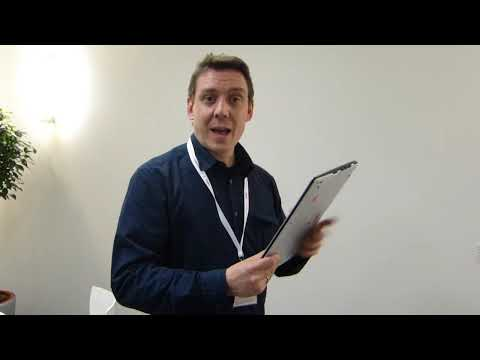 Fujitsu Lifebook U772 Hands-On Preview - CeBIT