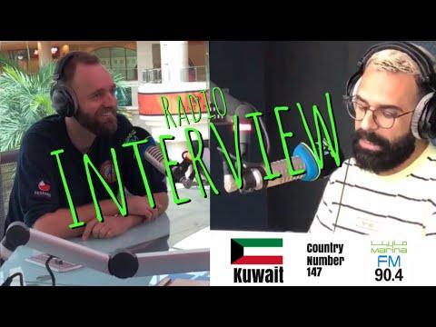 (interview) Marina FM, Kuwait❤️🇰🇼✨ June 6th 2018 (English/Arabic)