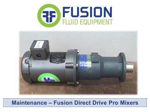 Maintenance - Fusion Direct Drive Pro Mixers