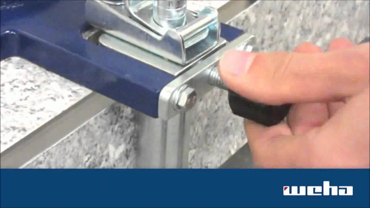 Weha Granite Stone Miter Clamps For Stone Amp Marble Youtube