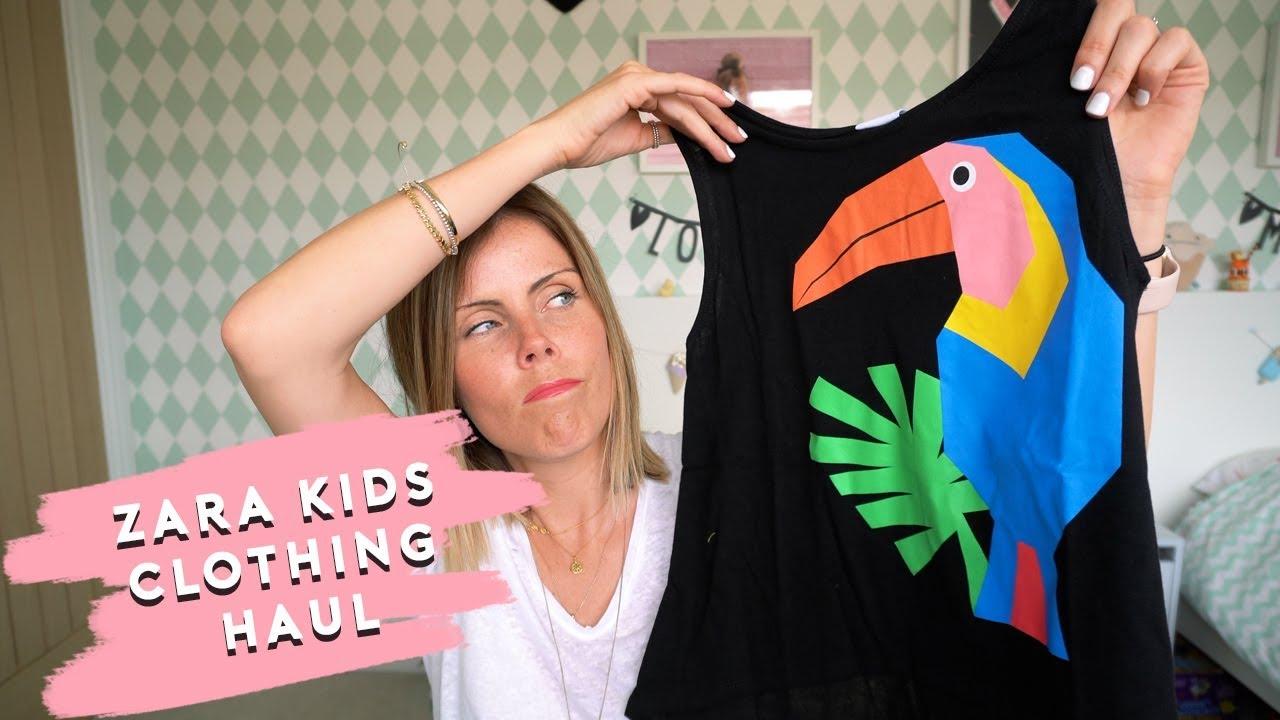 632eac3c2e KIDS CLOTHING HAUL | ZARA | BOYS AND GIRLS - YouTube