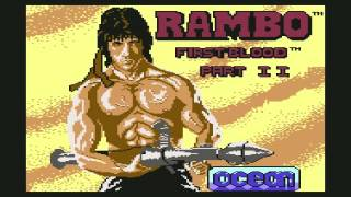 Rambo First Blood Part II Loading Music for the Commodore 64