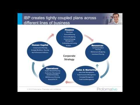 Best Practices Approach to Integrated Business Planning Webinar