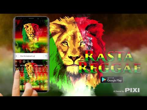 Rasta Reggae Lion Keyboard