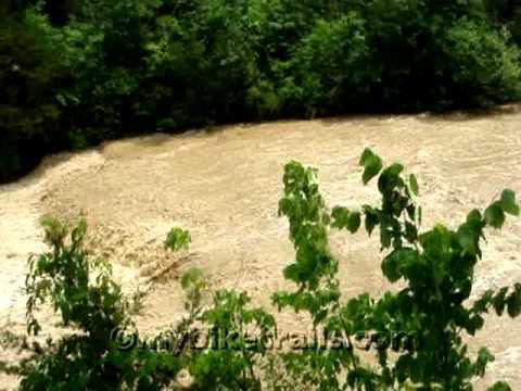 Greenville Falls State Scenic River Area in Covington, Ohio