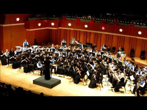 South Forsyth Middle School Band ,Triumphant Fanfare December 11,2015