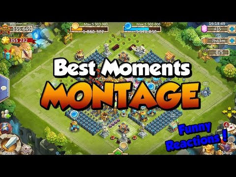 Castle Clash: Best Moments/Funny Reactions Montage! | Entry For FB Event