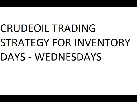 Crude Oil Trading Strategy For Inventory Days (Wednesday's)