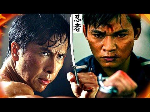 DONNIE YEN vs TONY JAA! - (IP Man Versus Ong Bak)☯ Wing Chun VS Muay Thai Martial Arts Gods Fight!