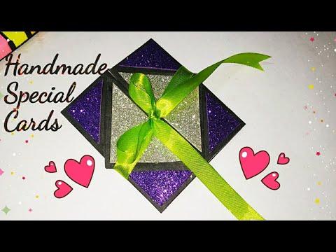 Greeting Cards Latest Design Handmade | Beautiful Handmade Birthday Card | sweety trendzzz