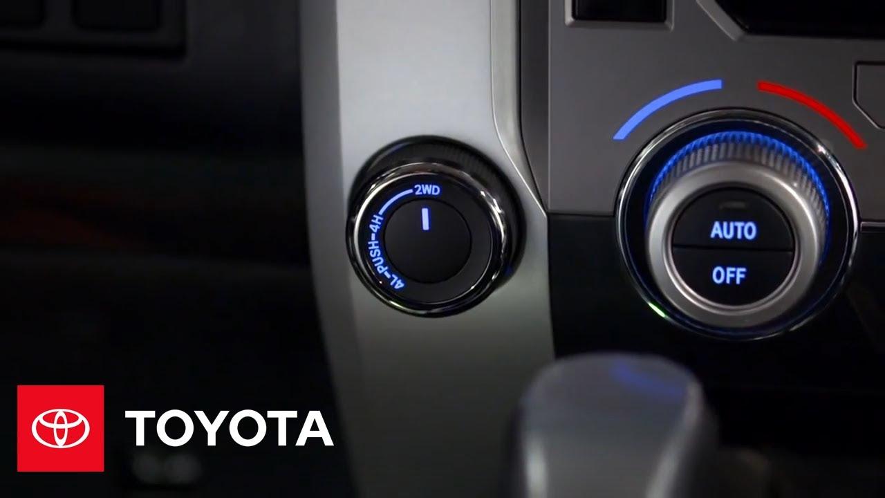 2014 Tundra How-To: On Demand 4 Wheel Drive | Toyota