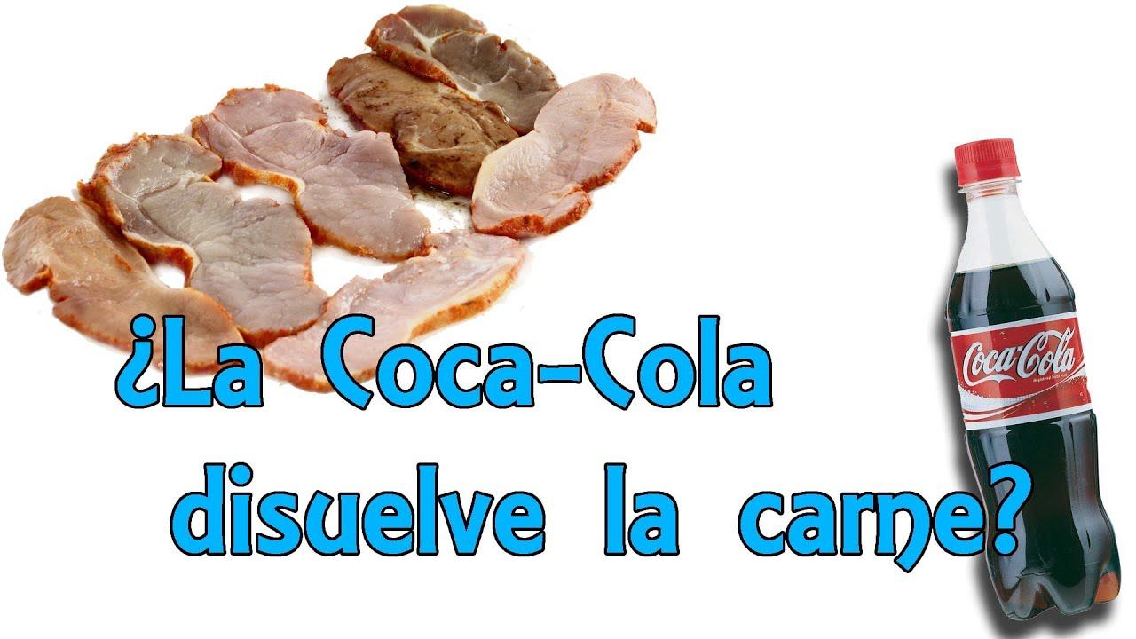 La coca cola puede disolver la carne mito desvelado - Quitar oxido coca cola ...