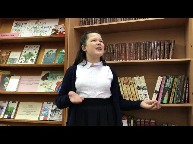 Изображение предпросмотра прочтения – ДарьяЕрмолова читает произведение «Книги в красном переплете» М.И.Цветаевой