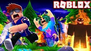 Outro pesadelo ROBLOX CAMPING!