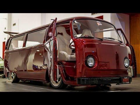 1974 Volkswagen Transporter Kombi Type 2 (T2) Bay Window Camper Van Lowrider Build Project