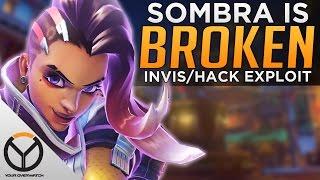Overwatch: Sombra Is BROKEN!? - Invisibility Hack Exploit