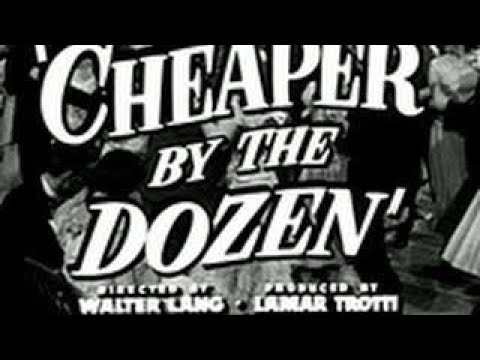 LUX RADIO THEATER: CHEAPER BY THE DOZEN - CLIFTON WEBB - OLD TIME RADIO