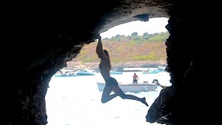 Deep Water Soloing In Mallorca - Yak Collective