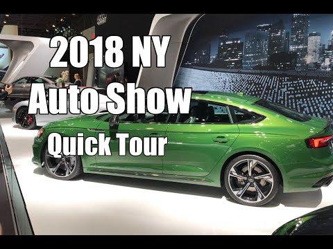 Vlog 31: 2018 NY International Auto Show Highlights