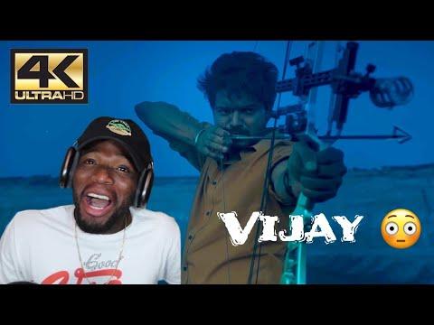 Master Movie - Archery scene   Master   Vijay   4K (English Subtitles)(REACTION)