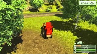 Farming Simulator 2013 Tutorial #1 - Silage Operation on Day One in Hard Mode