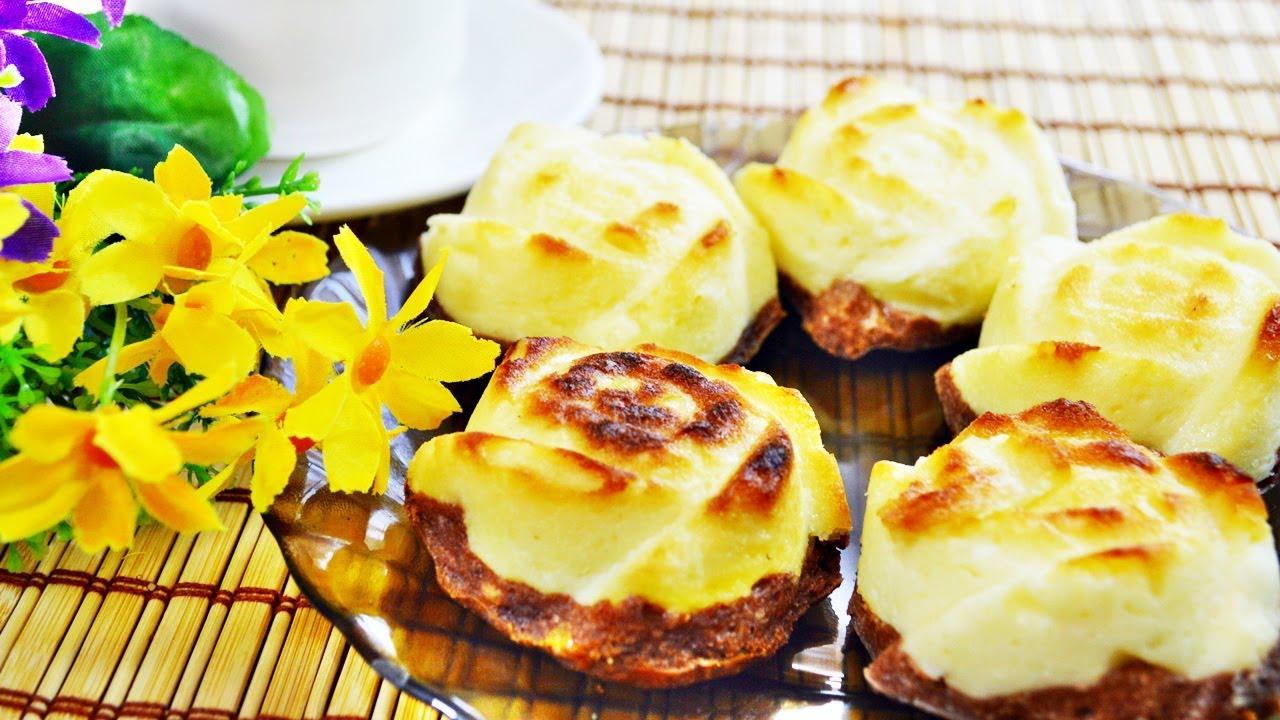Вкусные и полезные сырники-запеканки в духовке