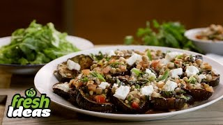 Sweet And Sour Eggplant Salad Recipe