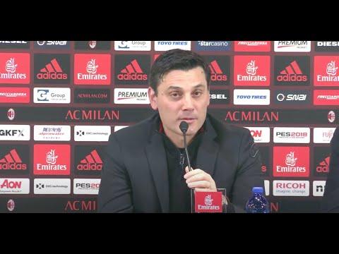 Coach Montella's press conference
