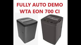 FULLY AUTO WM DEMO WTA EON 700CI