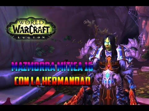 World of Warcraft   DK FROST - CORTE DE LAS ESTRELLAS MÍTICA 16 con la HERMANDAD