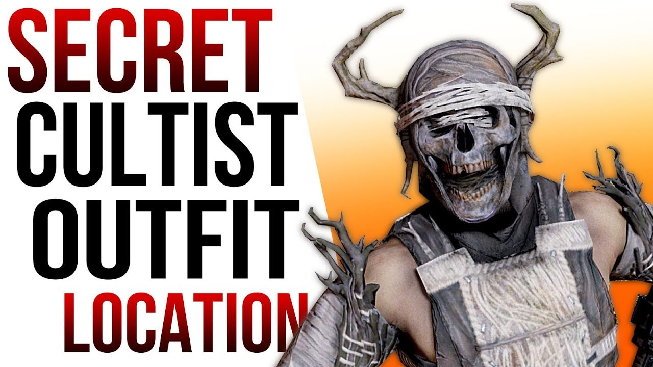 Fallout 76 Secrets - Cultist Outfit & Mask Location Guide!