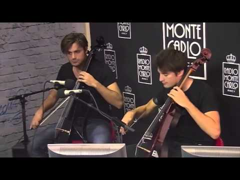 2CELLOS at Radio Monte Carlo 2nd time