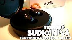 Uudet sudio nivå bluetooth nappikuulokkeet testissä!