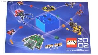 A look through a LEGO catalog from 2002