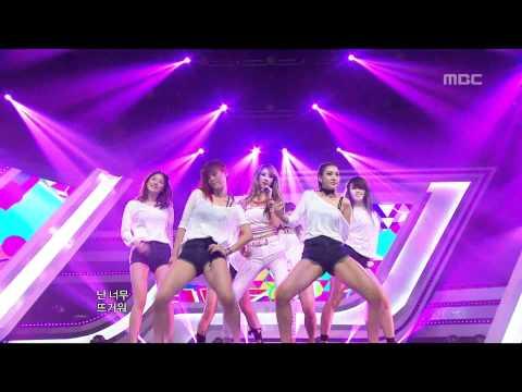 120623 [HD] G.NA - 2HOT, 지나 - 투핫, Music Core