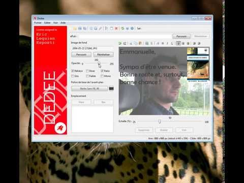 Dedee 1.0 Tour by Eric Lequien (author of Dedee)